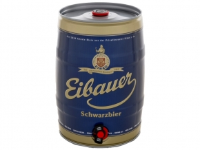 Eibauer Schwarzbier 5,0l Partyfass